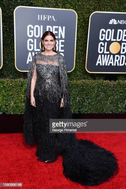 Debra Messing attends the 76th Annual Golden Globe Awards held at The Beverly Hilton Hotel on January 06 2019 in Beverly Hills California