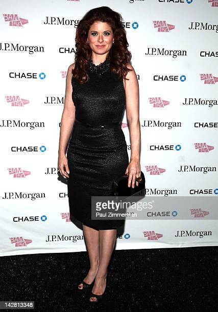 Debra Messing attends the BAM 150th Anniversary gala at the BAM Howard Gilman Opera House on April 12, 2012 in New York City.