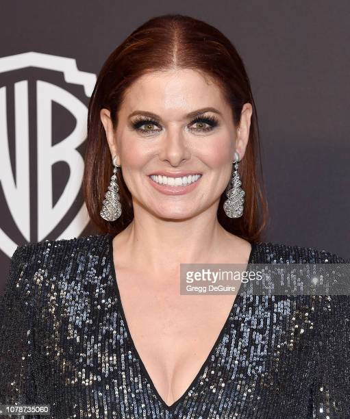Debra Messing attends the InStyle And Warner Bros Golden Globes After Party 2019 at The Beverly Hilton Hotel on January 6 2019 in Beverly Hills...