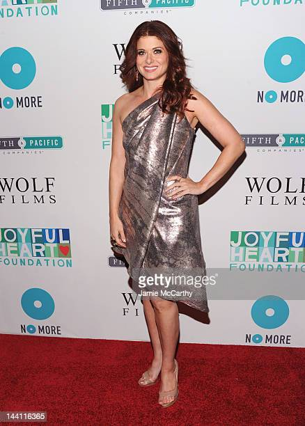 Debra Messing attends The Joyful Heart Foundation Presents The 5th Annual Joyful Revolution Gala at Cipriani Wall Street on May 9 2012 in New York...