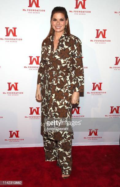 Debra Messing attends the Ms Foundation For Women's Annual Gloria Awards at Capitale on May 08 2019 in New York City