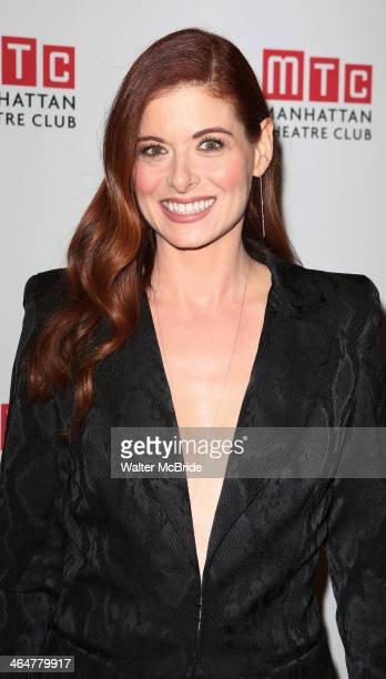 Debra Messing attends the 'Outside Mullinger' Broadway opening night after party at The Copacabana at Copacabana on January 23 2014 in New York City