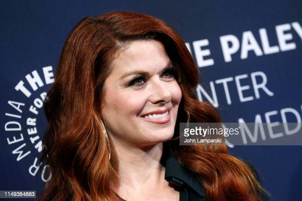 Debra Messing attends The Paley Honors A Gala Tribute To LGBTQ at The Ziegfeld Ballroom on May 15 2019 in New York City