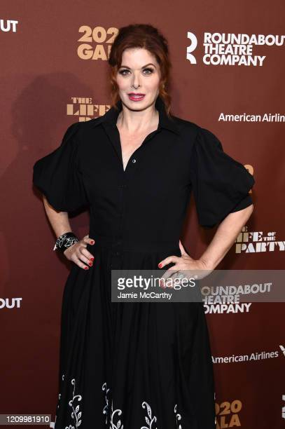 Debra Messing attends the Roundabout Theater's 2020 Gala at The Ziegfeld Ballroom on March 02 2020 in New York City