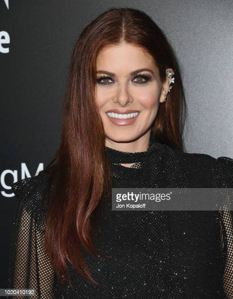 Debra Messing attends the screening of Stage 6 Films' Searching at ArcLight Hollywood on August 20 2018 in Hollywood California