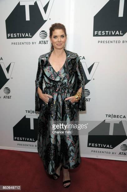 Debra Messing attends the Will Grace celebration during Tribeca TV Festival at Cinepolis Chelsea on September 23 2017 in New York City