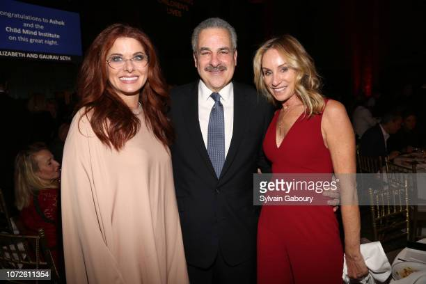 Debra Messing Dr Harold Koplewicz and Tracy Pollan attend Child Mind Institute 2018 Child Advocacy Award Dinner at Cipriani 42nd Street on November...