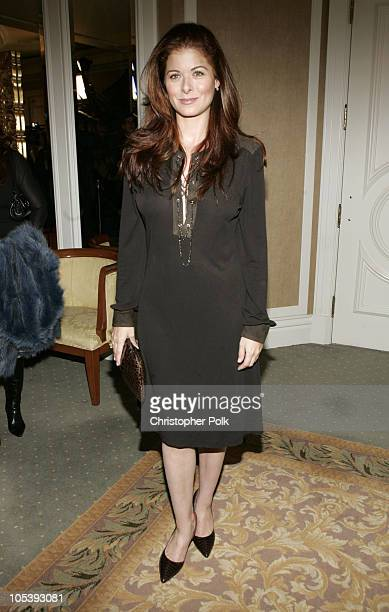 Debra Messing during In Style Magazine and the DIC Host Luncheon to Celebrate the 2005 Awards Season at Beverly Hills Hotel in Beverly Hills...