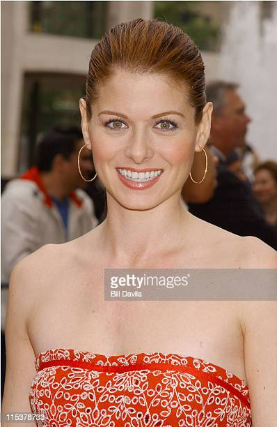 Debra Messing during NBC 20032004 Upfront Arrivals at The Metropolitan Opera House in New York City New York United States
