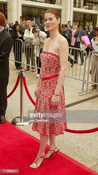 Debra Messing during NBC 20032004 Upfront at The Metropolitan Opera House lincoln Center in New York City New York USA