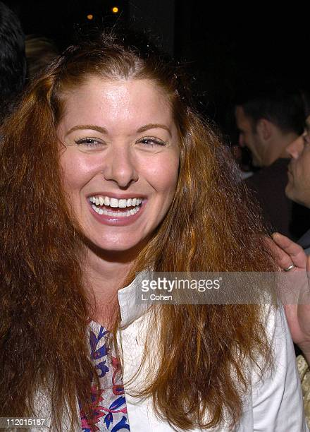 Debra Messing during Organic Style Magazine's Green Room Makeover at Greek Theater in Los Angeles California United States