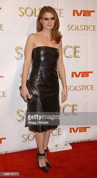 Debra Messing during Safilo USA Hosts CelebrityStudded Spring 2003 Designer Sunglass Fashion Show Extravaganza and Launch Party for the New Beverly...