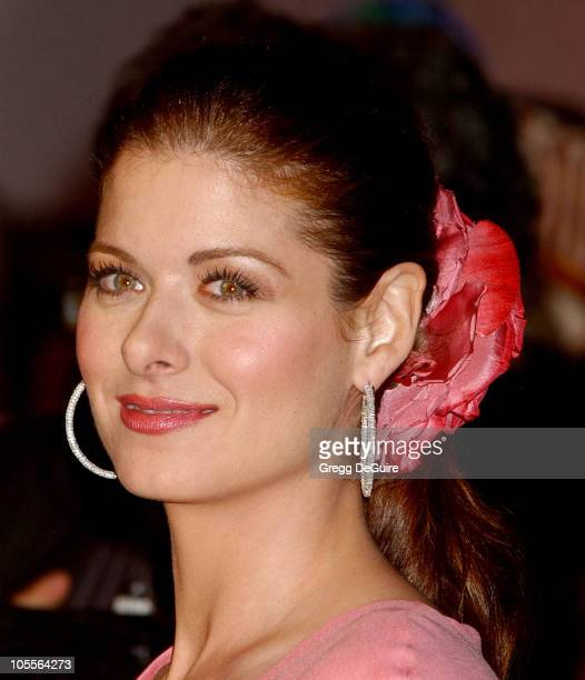 Debra Messing during The Wedding Date Los Angeles Premiere Arrivals at Universal Studios Cinemas in Universal City California United States
