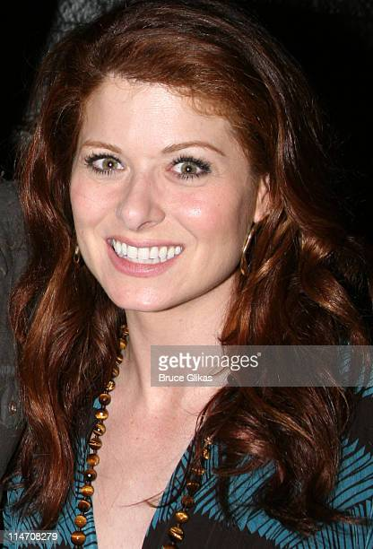 Debra Messing during Will and Grace CoStars Visit Eric McCormack and Cast at Some Girl the Night of their Big May 18th Finale at The Lucille Lortel...