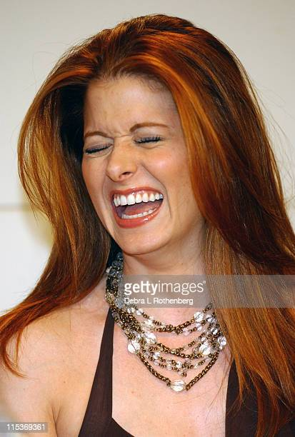 Debra Messing during 'Will Grace' Cast Signs their New CD 'Will Grace Let The Music Out' at Barnes Noble September 15 2004 at Barnes and Nobles Union...