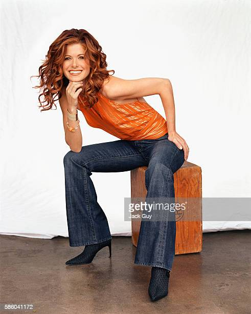 Debra Messing, Emmy Magazine, September 1, 2003