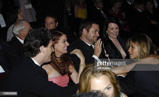 Debra Messing Megan Mullally and Jennifer Aniston *Exclusive*