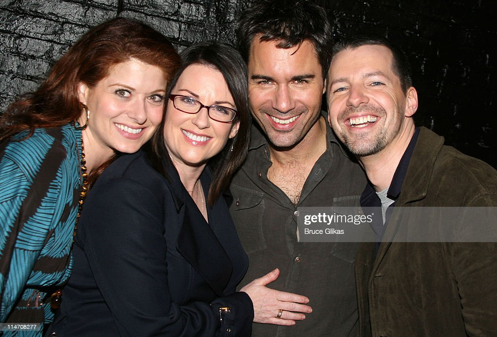 """Will and Grace"" Co-Stars Visit Eric McCormack and Cast at ""Some Girl(s)"" the Night of thier Big May 18th Finale : News Photo"
