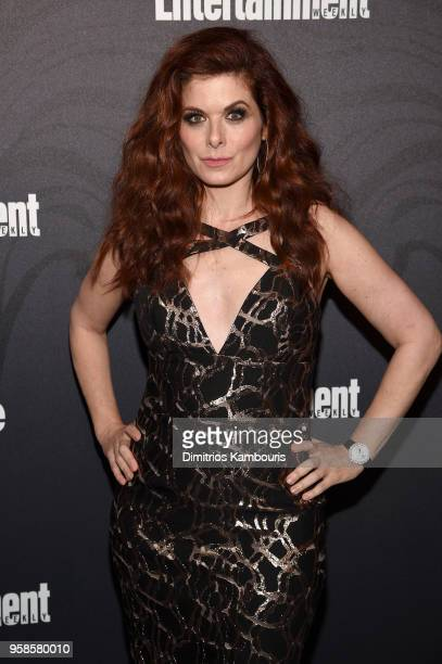 Debra Messing of Will Grace attends Entertainment Weekly PEOPLE New York Upfronts celebration at The Bowery Hotel on May 14 2018 in New York City