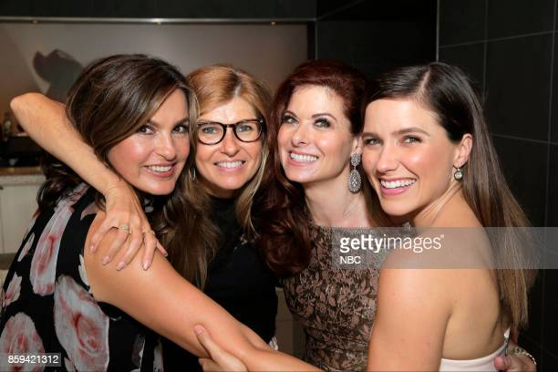 WILL GRACE 'Debra Messing on the Hollywood Walk of Fame' Pictured Mariska Hargitay Connie Britton Debra Messing Sophia Bush at the honoring of Debra...