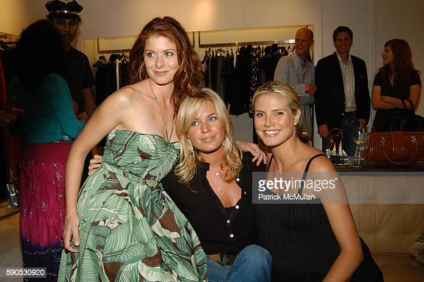 Debra Messing Rebecca Romijn and Heidi Klum attend Heidi Klum and Michael Kors from the Emmy nominated Project Runway host an Intimate Summer...