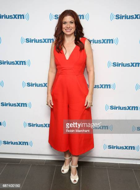 Debra Messing visits at SiriusXM Studios on May 23 2017 in New York City