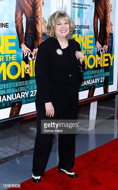 Debra Monk attends the One for the Money premiere at the AMC Loews Lincoln Square on January 24 2012 in New York City