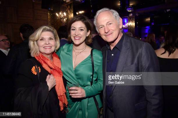 Debra Monk Caitlin McGee and Victor Garber attend the Tribeca Film Festival AfterParty For Standing Up Falling Down Hosted By Nespresso at Ainsworth...