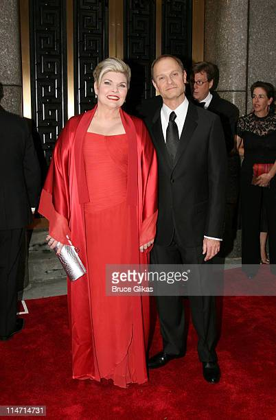 Debra Monk nominee Actress for Curtains and David Hyde Pierce nominee Actor for Curtains