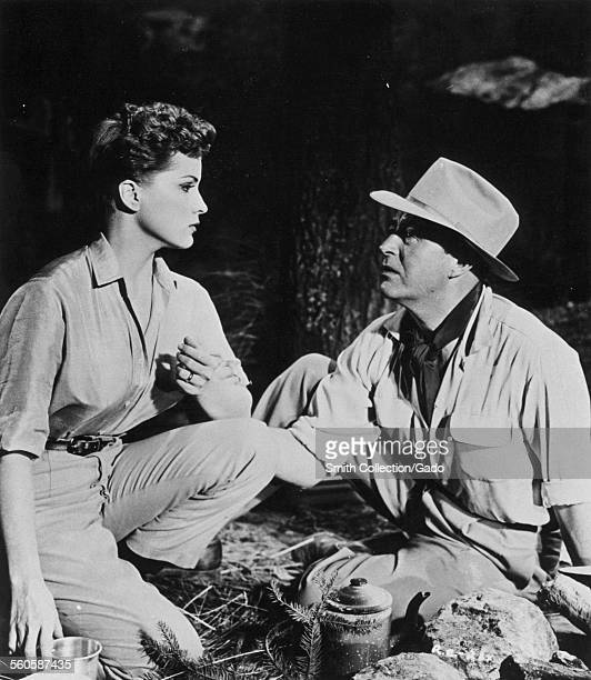 Debra Paget and Ray Milland in the Rivers Edge, 1977.