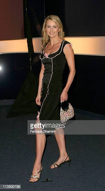 Debra Stephenson during Hell's Kitchen II - Day 14 - Arrivals at Atlantis Building in London, Great Britain.