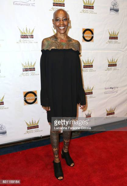 Debra Wilson attends the 42nd Little Miss African American Scholarship Pageant at Barnsdall Art Park on August 13 2017 in Los Angeles California