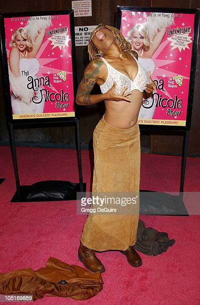 Debra Wilson during The Anna Nicole Smith Show Season One DVD Launch Party at Ivar in Hollywood California United States