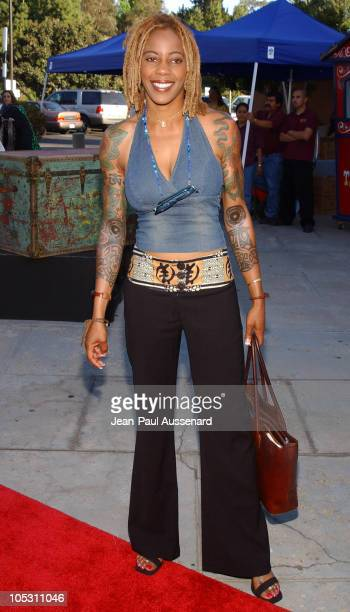 Debra Wilson during WeSparkle Night Take III to Benefit weSpark Cancer Support Center at Gindi Theater in Los Angeles California United States