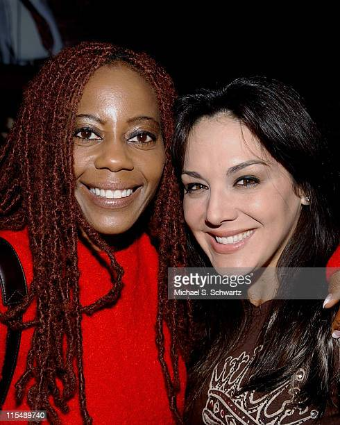 Debra Wilson Skelton and JillMichele Melean at The Hollywood Improv on October 4 2007 in Hollywood California