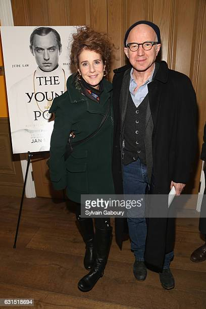 Debra Winger and Arliss Howard attend The Cinema Society Hosts a Screening of HBO's 'The Young Pope' on January 11 2017 in New York City