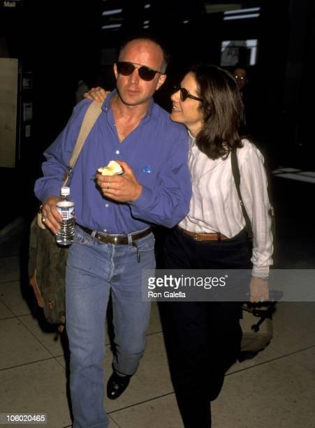 Debra Winger and Arliss Howard during Debra Winger and Arliss Howard at the Los Angeles International Airport at Los Angeles International Airport in...