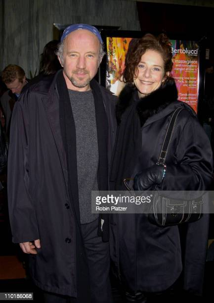 Debra Winger and husband Arliss Howard during New York Premiere of The Dreamers at Beekman Theater in New York City New York United States
