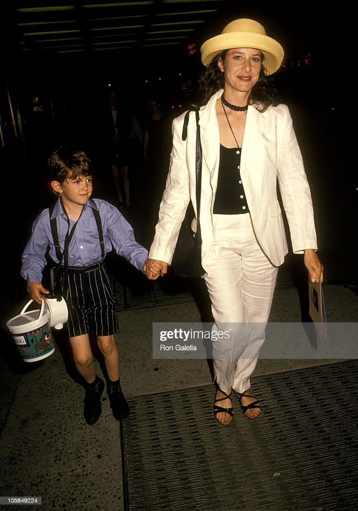 Debra Winger And Son Noah Hutton During Quot The Lion King
