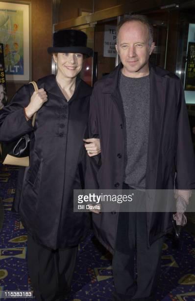 Debra Winger Arliss Howard attending the Premiere of 'The Business of Strangers'