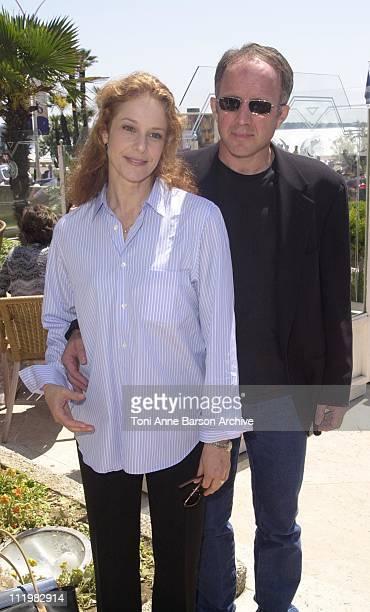 Debra Winger Arliss Howard during Cannes 2001 Big Bad Love Press Conference at Palais des Festivals in Cannes France