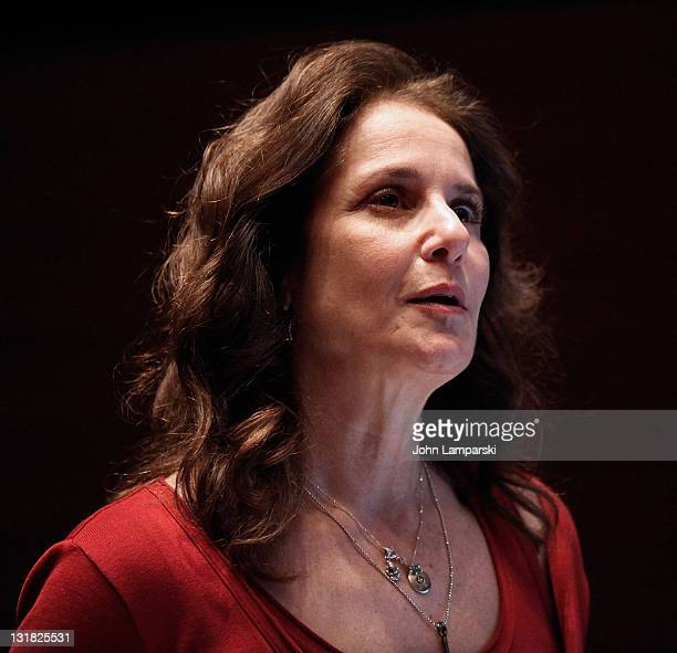 Debra Winger attends the 2011 Mount Sinai Global Health Conference screening of Gasland at Mount Sinai Medical Center on March 11 2011 in New York...