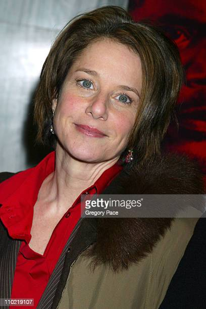 Debra Winger during 'In My Country' New York City Premiere Inside Arrivals at Beekman Theatre in New York City New York United States