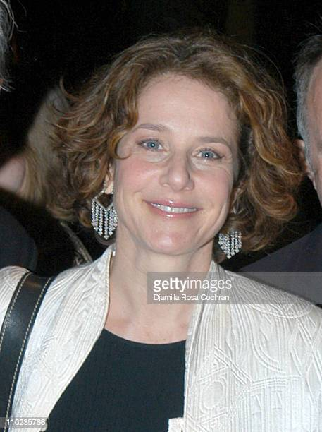 Debra Winger during Michael Tilson Thomas's Birthday Party April 5 2005 at Cipriani in New York City New York United States