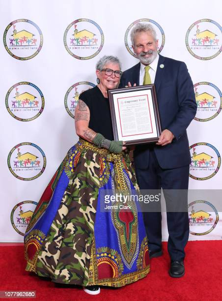 Debrah Constance and Jonathan Zeichner attend A Place Called Home's 18th Annual Gala For The Children at The Beverly Hilton Hotel on December 05 2018...
