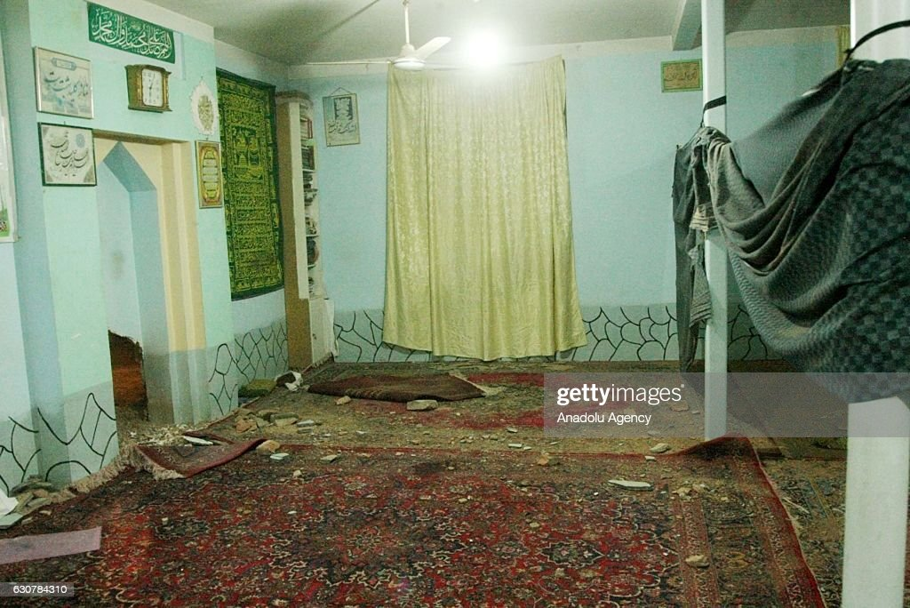 Mosque bombing in Afghanistan : News Photo
