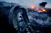 Debris from malaysia airlines flight 17 is shown smouldering in a picture id452293164?s=170x170
