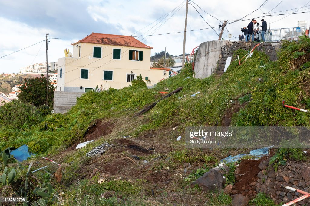 German Tourists Are Killed In Madeira Coach Crash : News Photo