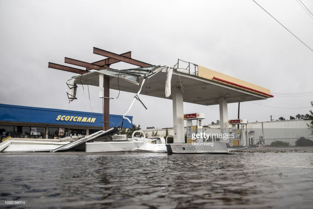 Deadly Florence Pummels North Carolina as Floodwaters Rise : Fotografía de noticias
