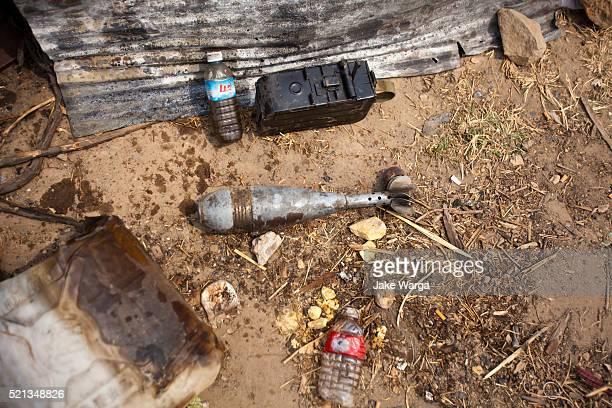 debris of conflict, preah vihear temple, cambodia - jake warga stock photos and pictures